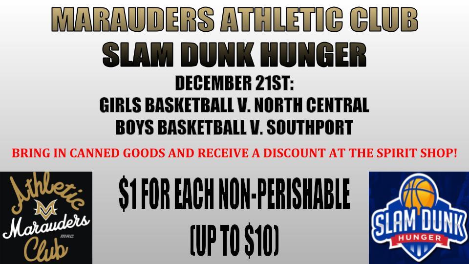 Slam Dunk Hunger on 12/21!