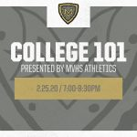 MV Athletics Hosting College 101 Seminar