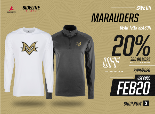 February Sideline Store Special