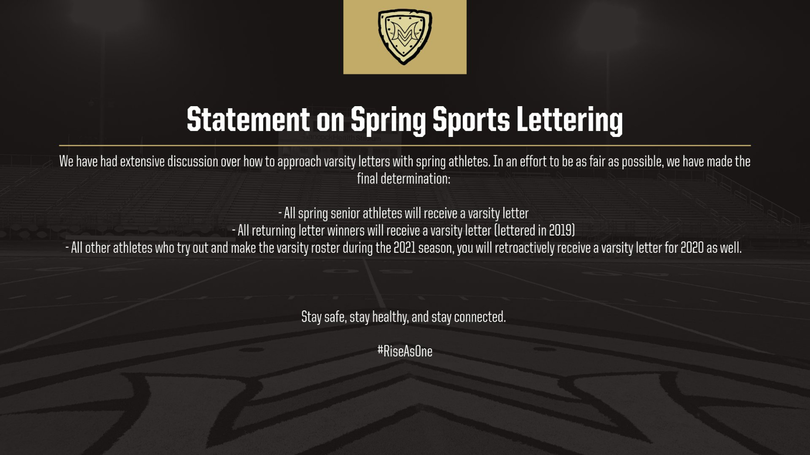Spring Sports Lettering