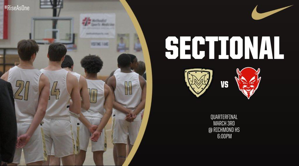 Boys Basketball Sectional Quarterfinal Information