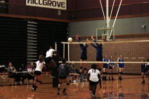 V Volleyball defeats Mt Paran