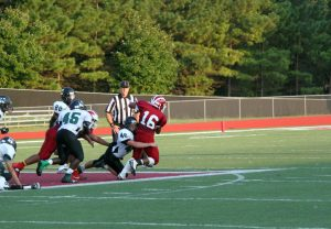 JV football falls to Kennesaw Mountain 19-16