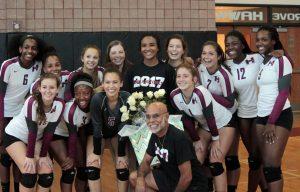 Senior Night with Varsity Volleyball