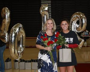 Senior Night with Lady Hawks Volleyball 2018 vs N Paulding