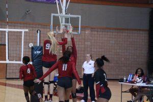 Lady Hawks Volleyball vs KMHS pics 2018