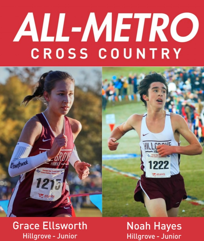 2 Hawks named to Atlanta Track Club Powerade All Metro Cross Country Team!