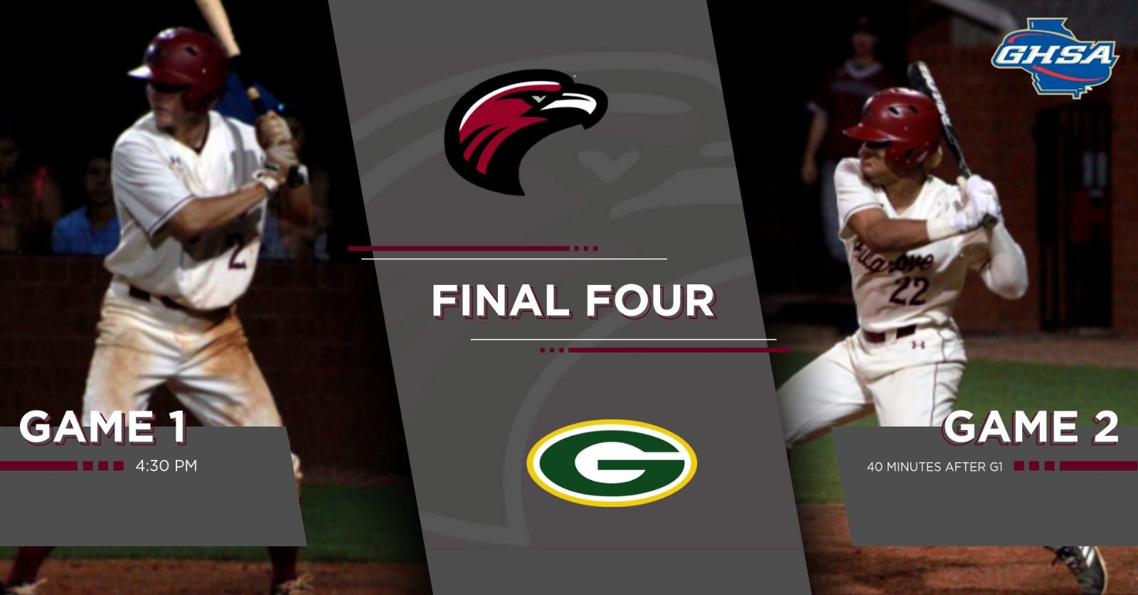 Baseball Playoffs Semi-Finals vs Grayson on 5/14/19