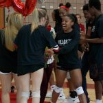 Lady Hawks Volleyball Sr Night 2019