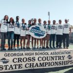 Girls Cross Country Team Claims 1st State Championship in School History!