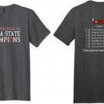 XC State Championship T-Shirt Fundraiser
