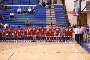 V Boys Basketball defeat NPHS in Region tourney