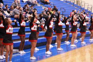 Basketball Cheer Region Tourney 2020