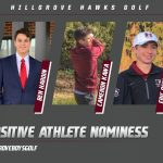 Hillgrove Golfers Nominated