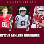 Hawks Football Players Honored