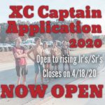 2020 XC Captains Application