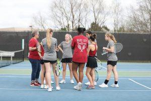 Girls Tennis defeat McEachern