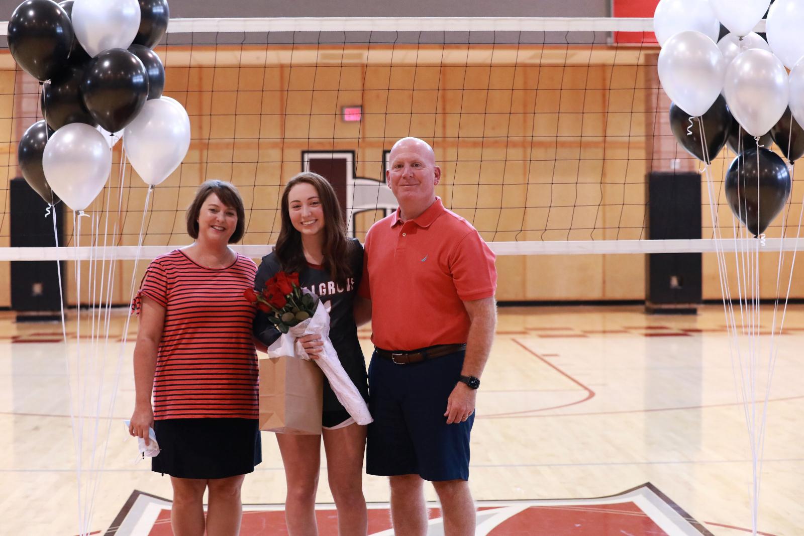 Volleyball Senior Night 2020