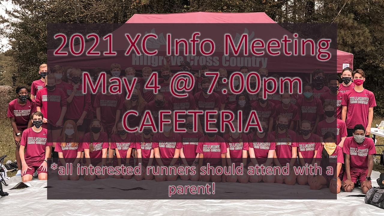 2021 Hillgrove XC Info Meeting