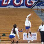 Folsom High School Girls Freshman Volleyball falls to Rocklin – Home Game 2-0