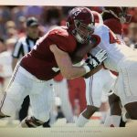 Jonah Williams finds guys his own size to pick on at Alabama