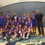 Folsom High School Boys Freshman Basketball beat River Valley to win 1st place in the Folsom/Vista Tournament 60-51