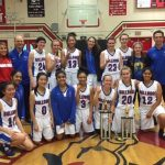 Folsom JV Girls Basketball  takes First Place in the Bella Vista Tournament!