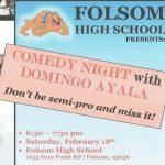 Comedy Night with Domingo Ayala sponsored by Baseball Saturday, February 18