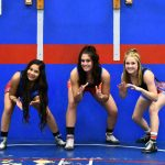 Folsom High School Girls Varsity Wrestling Win All of Their Matches