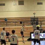 Folsom High School Boys Junior Varsity Volleyball falls to Oak Ridge – Away Game 2-0