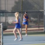 Folsom Girls Tennis Defeats Granite Bay in Overtime Play!
