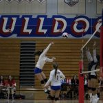 Folsom High School Girls Freshman Volleyball beat Woodcreek – Game 2-0