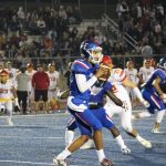 Boys Varsity Football beats Jesuit 27 – 14
