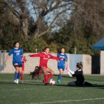 2017-18 Freshmen Girls Soccer vs Bella Vista and Whitney (courtesy of Scott Zinn)
