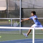 Folsom Varsity Boys Tennis Loses a Close One to Rocklin
