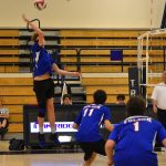 Boys Varsity Volleyball beats Oak Ridge 3 – 0