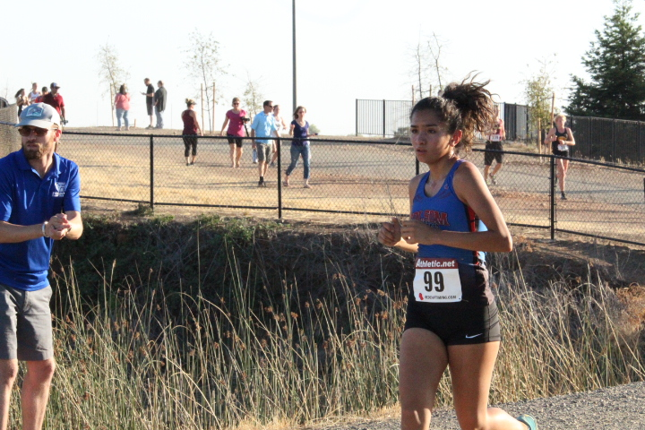 Samara and Boys Frosh/Soph team have big day for Folsom H.S. at Cross Country Invitational 9-15-18