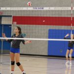 2018-19 Folsom H.S. JV Girls Volleyball vs Granite Bay
