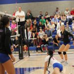 2018-19 Folsom H.S. Varsity Girls Volleyball vs Oak Ridge (2)
