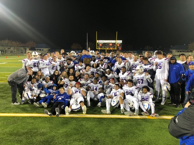 2018  Folsom Football Wins Norcal Championships, Advance to State Championships