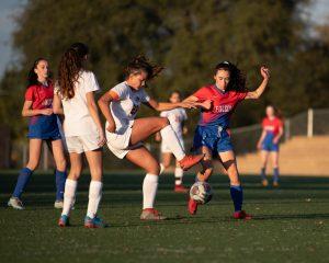 2018-19 Folsom HS JV Girls Soccer vs Vacaville 12/12/18 (Won 2-0)