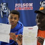 Folsom Celebrates 2 College Signings for 1st Semester Graduates