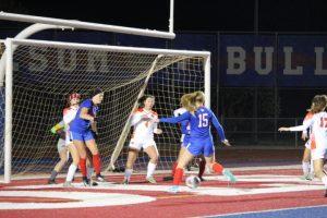 2018-19 Folsom HS Varsity Girls Soccer vs Vacaville 12/12/18 (1)
