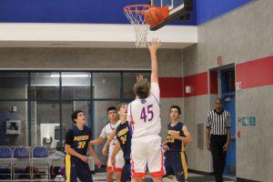 2018-19 Folsom HS Frosh/Soph Boys Basketball vs Nevada Union 12/17/18