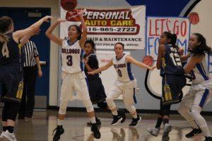 2018-19 Folsom H.S. JV Girls Basketball vs Oak Ridge 1/18/19