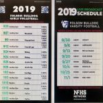 2019-20 Watch all Livestreamed Folsom Football, Girls Volleyball and Sideline Cheer on NFHSnetwork.com