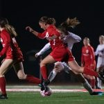 2019-20 Varsity Girls Soccer vs Bella Vista  on 12/3/19 (photos by Scott Zinn)