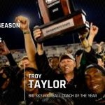 Congratulations to Former Folsom FB Coach, Troy Taylor- Named FCS Coach of the Year