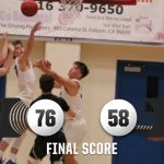 Folsom Varsity Boys Basketball Defeats Oak Ridge 1-24-20