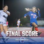 Folsom Varsity Girls Soccer Loses by a Small Margin to Oak Ridge 1-24-20